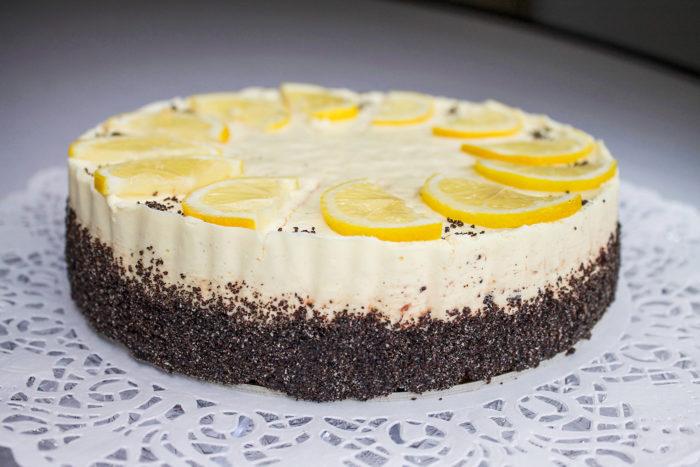 Gluténmentes, lisztmentes, cukormentes, tejmentes, laktózmentes, tartósítószer-mentes, térfogatnövelő-mentes, habosítómentes, ízfokozómentes, színezékmentes, idegméregmentes, mindenmentes, egészséges, Paleo Citromos mák torta