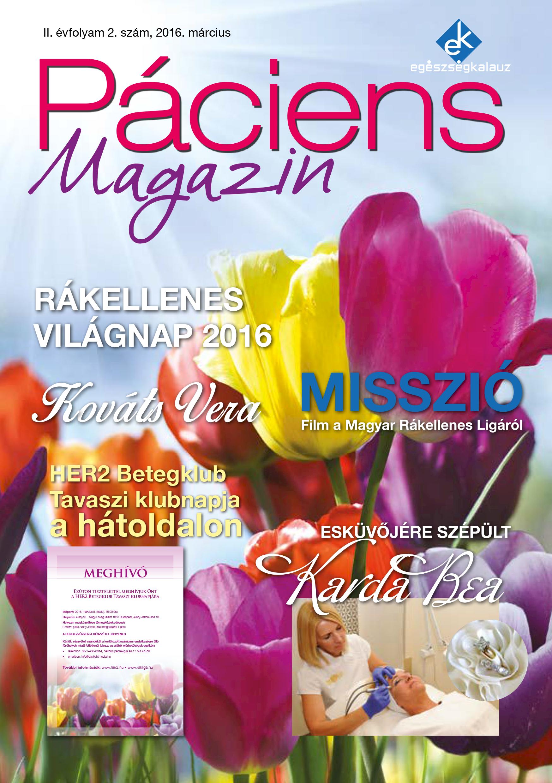 Egészségkalauz: márciusi Páciens Magazin