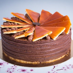 Gluténmentes Dobos torta