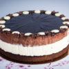 Gluténmentes Duplacsokis torta - 16 szeletes egész torta
