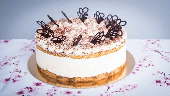 Gluténmentes Tiramisu torta