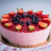 Paleo Epermousse torta - 16 szeletes egész torta