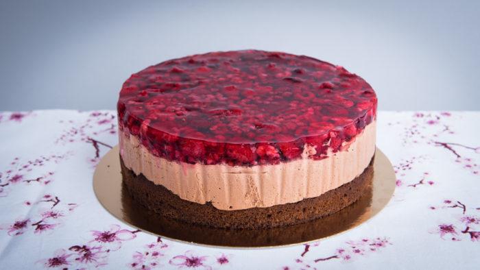 Paleo Málnás csokimousse torta Budapest