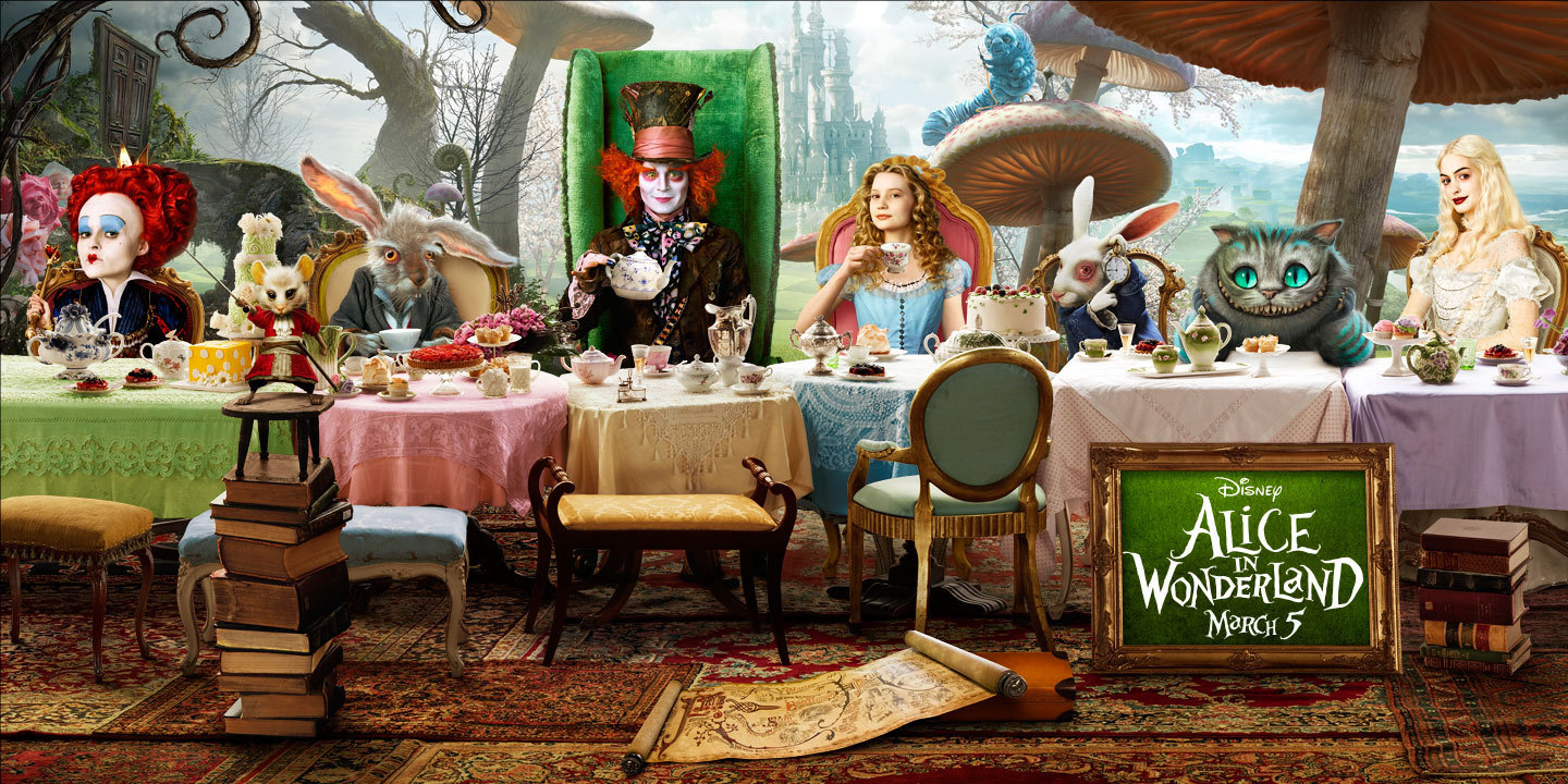 OFFICIAL cinema Poster alice in wonderland 2009 9603957 1440 720