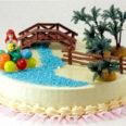 Ariel - torta dekoráció