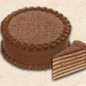Gluténmentes Stefánia torta