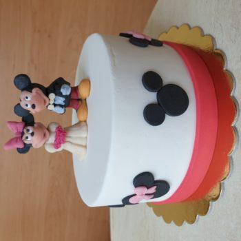 Mickey és Minnie torta