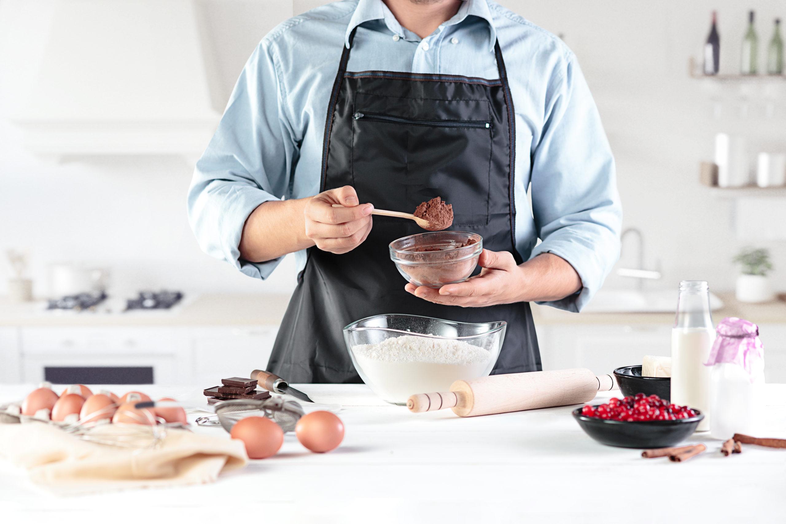 chef preparing pie scaled