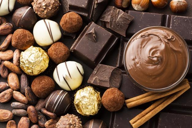 close up chocolate arrangement 23 2148349283
